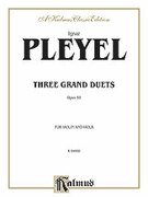 Cover icon of Three Grand Duets, Op. 69 (COMPLETE) sheet music for violin and viola by Ignaz Joseph Pleyel