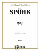 Cover icon of Duet, Op. 13 (COMPLETE) sheet music for violin and viola by Louis Spohr