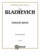 Cover icon of Concert Duets (COMPLETE) sheet music for two trombones by Vladislav Blazhevich