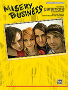 Cover icon of Misery Business sheet music for piano, voice or other instruments by Paramore
