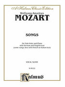 Cover icon of 39 Songs for Medium High Voice (COMPLETE) sheet music for voice and piano by Wolfgang Amadeus Mozart
