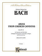 Cover icon of Soprano and Alto Arias, Volume III (COMPLETE) sheet music for voice and piano by Johann Sebastian Bach