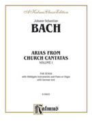 Cover icon of Tenor Arias, Volume I (COMPLETE) sheet music for voice and piano by Johann Sebastian Bach