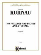 Cover icon of Two Preludes and Fugues and a Toccata (COMPLETE) sheet music for organ solo by George Frideric Handel, classical score, easy/intermediate