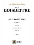 Cover icon of Suite Romantique, Op. 24 (COMPLETE) sheet music for violin and piano by Rene de Boisdeffre and Rene de Boisdeffre, classical score, intermediate skill level