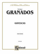 Cover icon of Goyescas (COMPLETE) sheet music for piano solo by Enrique Granados, classical score, intermediate skill level