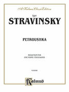 Cover icon of Petroushka (COMPLETE) sheet music for piano four hands by Igor Stravinsky