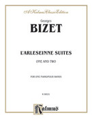 Cover icon of L'Arlesienne, Suites 1 and 2 (COMPLETE) sheet music for piano four hands by Georges Bizet