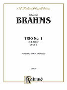 Cover icon of Trio No. 1 in B Major, Op. 8 (COMPLETE) sheet music for piano trio by Johannes Brahms