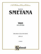 Cover icon of Trio in G Minor, Op. 15 (COMPLETE) sheet music for piano trio by Bedrich Smetana