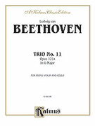 Cover icon of Trio No. 11, Op. 121a, in G Major (COMPLETE) sheet music for piano trio by Ludwig van Beethoven