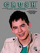 Cover icon of Crush sheet music for piano, voice or other instruments by Emanuel Kiriakou, David Archuleta, David Hodges and Jess Cates