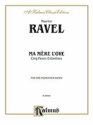 Cover icon of Ma Mere l'oye (COMPLETE) sheet music for piano four hands by Maurice Ravel