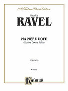 Cover icon of Ma Mere l'oye (COMPLETE) sheet music for piano solo by Maurice Ravel, classical score, intermediate