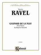 Cover icon of Gaspard de la Nuit (COMPLETE) sheet music for piano solo by Maurice Ravel, classical score, intermediate piano