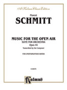 Cover icon of Music for the Open Air (COMPLETE) sheet music for piano four hands by Florent Schmitt