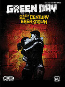 Cover icon of 21st Century Breakdown sheet music for bass (tablature) by Green Day, easy/intermediate skill level