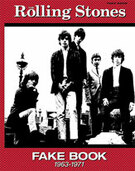 Cover icon of The Singer Not the Song sheet music for guitar or voice (lead sheet) by Mick Jagger and The Rolling Stones, easy/intermediate