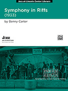 Cover icon of Symphony in Riffs sheet music for jazz band (full score) by Benny Carter, advanced