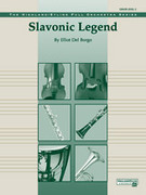 Cover icon of Slavonic Legend sheet music for full orchestra (full score) by Elliot Del Borgo