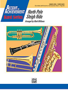Cover icon of North Pole Sleigh Ride (COMPLETE) sheet music for concert band by Mark Williams
