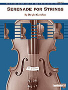 Cover icon of Serenade for Strings sheet music for string orchestra (full score) by Dwight Gustafson