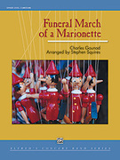Cover icon of Funeral March of a Marionette sheet music for concert band (full score) by Stephen Squires