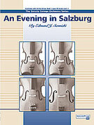 Cover icon of An Evening in Salzburg sheet music for string orchestra (full score) by Edmund J. Siennicki