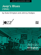 Cover icon of Jeep's Blues sheet music for jazz band (full score) by Duke Ellington, Johnny Hodges and David Berger