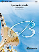 Cover icon of Quatre Fantasie (COMPLETE) sheet music for concert band by Scott Director