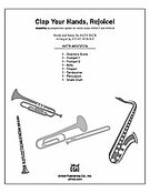 Cover icon of Clap Your Hands, Rejoice! (COMPLETE) sheet music for Choral Pax by Andy Beck, easy/intermediate
