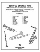Cover icon of Comin' up Christmas Time sheet music for band or orchestra (full score) by Joseph Barbera