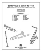 Cover icon of Santa Claus Is Comin' to Town sheet music for Choral Pax (full score) by J. Fred Coots and Jay Althouse, easy/intermediate skill level