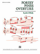 Cover icon of FOREST PINES OVERTURE/CB      SET4D sheet music for concert band (full score) by John O'Reilly