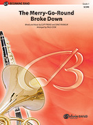 Cover icon of The Merry-Go-Round Broke Down sheet music for concert band (full score) by Cliff Friend, Dave Franklin and Paul Cook