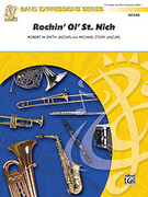 Cover icon of Rockin' Ol' St. Nick sheet music for concert band (full score) by Robert W. Smith and Michael Story, beginner