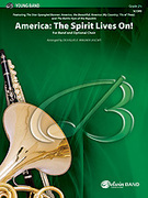 Cover icon of The Spirit Lives On! (COMPLETE) sheet music for concert band by Anonymous and Douglas E. Wagner