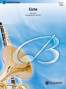 Cover icon of Cute sheet music for concert band (full score) by Neal Hefti, Neal Hefti and Roy Phillippe