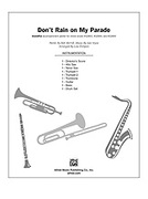 Cover icon of Don't Rain on My Parade (COMPLETE) sheet music for Choral Pax by Jule Styne