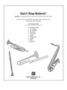 Cover icon of Don't Stop Believin' (COMPLETE) sheet music for Choral Pax by Jonathan Cain, Neal Schon, Steve Perry and Alan Billingsley, easy/intermediate