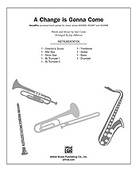 Cover icon of A Change Is Gonna Come sheet music for Choral Pax (full score) by Sam Cooke