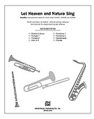 Cover icon of Let Heaven and Nature Sing (COMPLETE) sheet music for Choral Pax by Sally K. Albrecht and Jay Althouse, easy/intermediate skill level