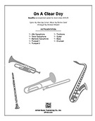Cover icon of On a Clear Day sheet music for Choral Pax (full score) by Burton Lane, Alan Jay Lerner and Darmon Meader