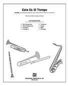 Cover icon of Esta Es el Tiempo sheet music for Choral Pax (full score) by Jay Althouse
