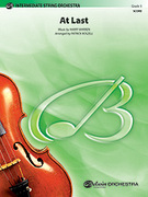 Cover icon of At Last sheet music for string orchestra (full score) by Harry Warren, Beyonce and Patrick Roszell, classical wedding score, easy/intermediate