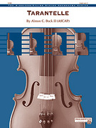 Cover icon of Tarantelle (COMPLETE) sheet music for string orchestra by Almon C. Bock