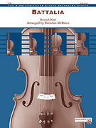 Cover icon of Battalia (COMPLETE) sheet music for string orchestra by Heinrich Biber and Brendan McBrien, classical score, easy/intermediate orchestra