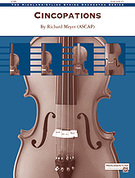 Cover icon of Cincopations (COMPLETE) sheet music for string orchestra by Richard Meyer