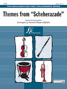 Cover icon of Themes from Scheherazade sheet music for full orchestra (full score) by Nikolai Rimsky-Korsakov, classical score, easy skill level