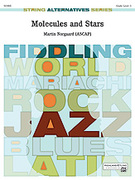 Cover icon of Molecules and Stars sheet music for string orchestra (full score) by Martin Norgaard, easy/intermediate